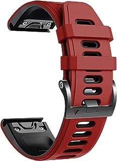 comprar comparacion NotoCity Correa Compatible con Fenix 6 Easy Fit 22 mm Pulsera de Silicona para Fenix 6/Fenix 6 Pro/Fenix 5/Fenix 5 Plus/Fo...
