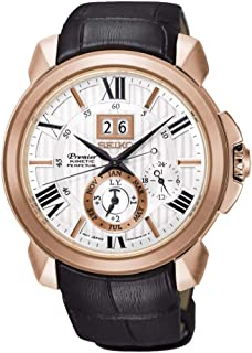 Seiko - Reloj Seiko Premier Kinetic Perpetual SNP150P1EST Hombre