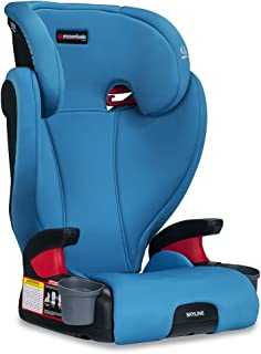 Britax Skyline Belt-Positioning Booster Seat - 2 Layer Impact Protection - 40 to 120 pounds, Teal
