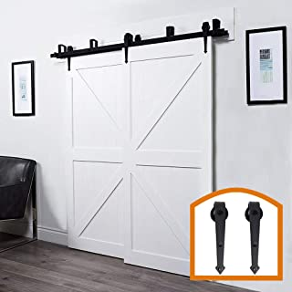 Best diy bypass sliding barn door Reviews