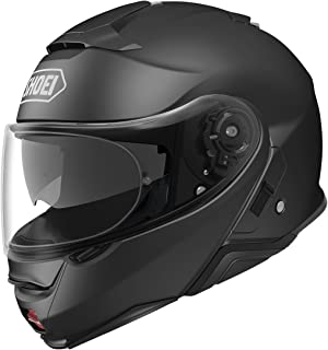 Shoei Neotec II Flip-Up Motorcycle Helmet Matte Black Large (Additional Size and Colors)