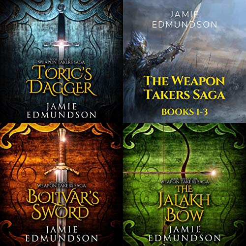 The Weapon Takers Saga Books 1-3 audiobook cover art