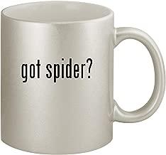 got spider? - Ceramic 11oz Silver Coffee Mug, Silver