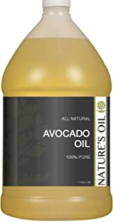 Avocado Oil Gallon - 100% Pure Carrier for Massage, Diluting Essential Oils, Aromatherapy, Hair & Skin Care Benefits, Mois...