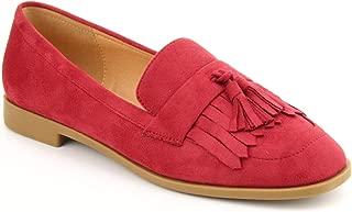 Women's Loafer Flat Comfort Shoes - Fringe Tassel Accent