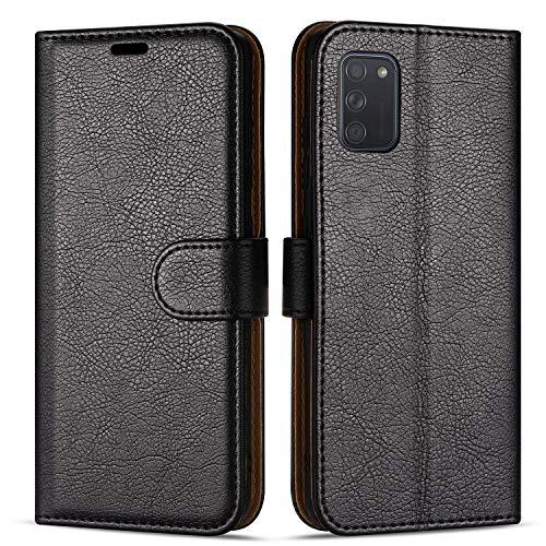 Hülle Collection Hochwertige Leder hülle für Samsung Galaxy A41 Hülle (6,1