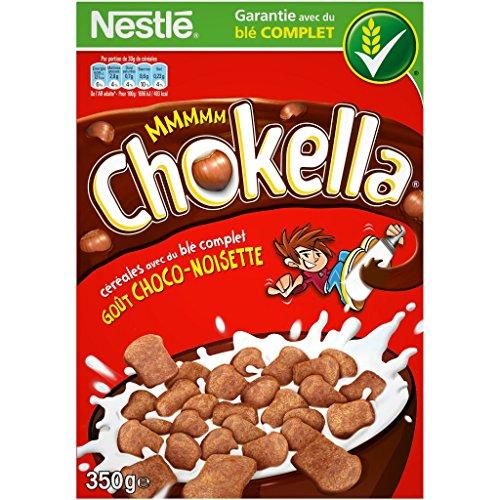 Nestlé Chokella Cereali Grano Intero Cioccolato Gusto Nocciola 350G