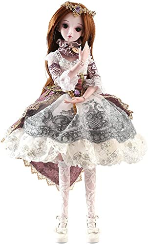 12shage BJD Doll SD Doll 60cm 24 inch Weißhe Prinzessin Braut Puppen für mädchen Geschenk- und Puppenkollektion