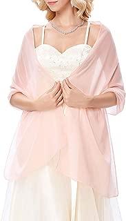 Kate Kasin Soft Chiffon Scarve Shawls Wraps and Pashmina for Evening Party KK229