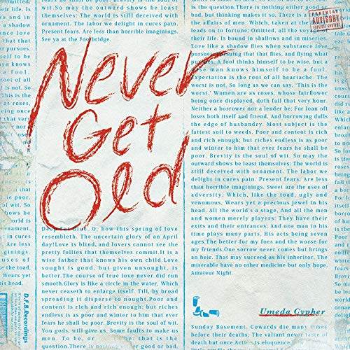 [Album]NEVER GET OLD – 梅田サイファー[FLAC + MP3]