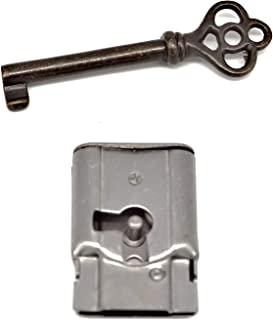 Full Mortise Cabinet Lock Excellent Antique Reproduction Full Mortise Furniture Lock, Can Be Used On Drawers or Right Hand Cabinet Doors.