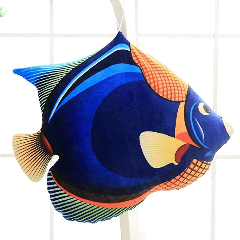 NIANMEI Nooer 40Cm Colorful Plush Tropical Fish Toy Stuffed Fish Pillow Cushion Sofa Decor For Children Birthday