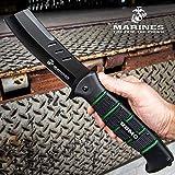 United Cutlery USMC Cleaver Maximum Assisted Opening Pocket Knife