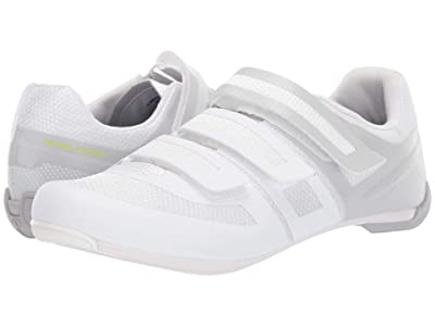 Pearl Izumi Quest Road Cycling Shoe (White/Fog) Women
