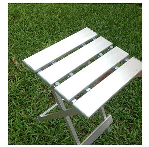 Heruai Aluminium Multifunktions-Klapphocker Klappstuhl Stuhl Portable Fischen Hocker Kinder Camping Stuhl Casual Hocker Lager Kapazität von 150Kg