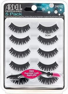 Ardell Demi Black Lashes - 101 5 Pack + Free Precision Lash Applicator