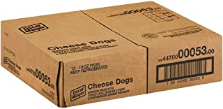 Kraft Oscar Mayer Hot Dog - Cheese, 16 Ounce -- 12 per case.