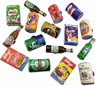 16pc Mix Beer ,Soft Drink,Coca cola Can Wall Magnet Collection High Quality 3d Fridge Magnet SOUVENIR TOURIST GIFT ETC-005