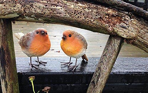 London Ornaments Set of 2 Robins (Set of 2 Robins A)