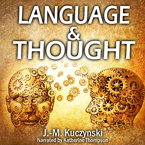 Thought and Language audiobook cover art