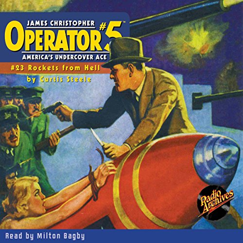 Operator #5 #23, February 1936 audiobook cover art