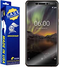 ArmorSuit MilitaryShield [Case Friendly] Screen Protector for Nokia 6.1 - Anti-Bubble HD Clear Film
