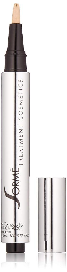 四面体前提条件歯痛Sorme' Treatment Cosmetics Sorme化粧品パーフェクトタッチコンシーラーペン、0.10オンス 0.10オンス 真の砂