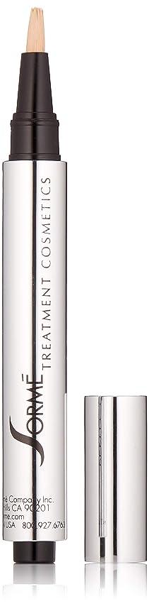なぞらえるアダルトボーナスSorme' Treatment Cosmetics Sorme化粧品パーフェクトタッチコンシーラーペン、0.10オンス 0.10オンス 真の砂