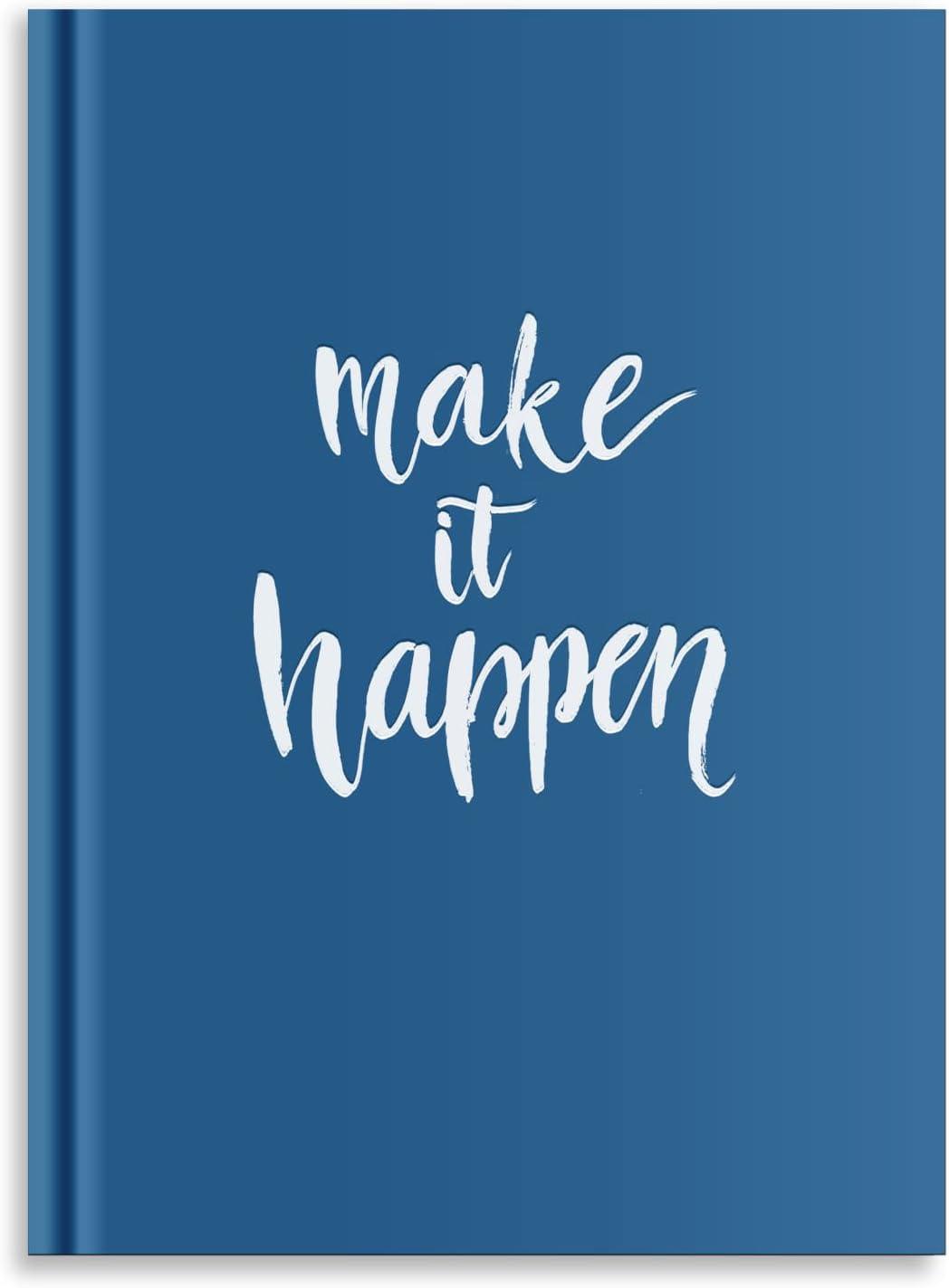 Belvedere Make It Happen Notebook 7X9.5 Inch