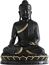 PPCP Sculpture Gifts&Decor,Sitting Buddha Statue,Home Decor Buddha Statues Religious Figurine Buddha Meditating Good Luck ...