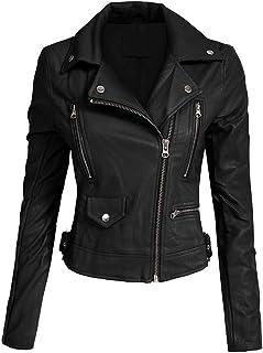 Hashoob Ladies Polyurethan Leather Jacket Women Jacket NP-01