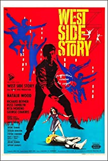 Herbé TM Cinema West Side Story poster / kunstdruk 40 x 60 cm * D 1 poster antiek/retro