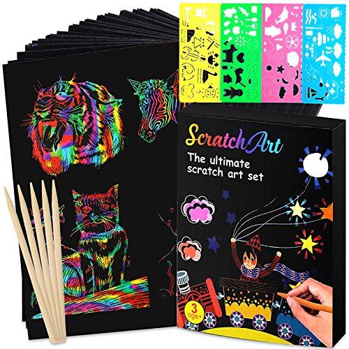 (50% OFF Coupon) Rainbow Magic Scratch Paper 50pc $5.00