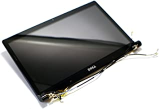 Dell F307T New Studio 1555 1557 1558 Laptop Notebook Complete Red LCD Screen Monitor Panel Assembly HD 1600 900 Widescreen