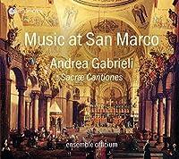 A. GABRIELI/SACRAE CANTIONES (VENEDIG 1565)