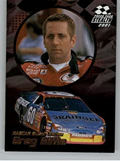 2001 Press Pass Stealth Gold #G46 Greg Biffle BGN NM-MT