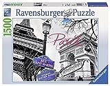 Ravensburger - París, mi Amor, Puzzle de 1500 Piezas (16296 3)