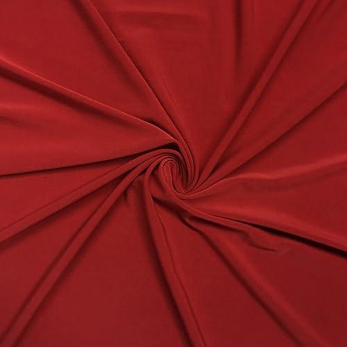 e347f63f199 ITY Fabric Polyester Lycra Knit Jersey 2 Way Spandex Stretch 58