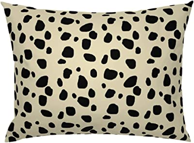 Amazon.com: Rows of Block Color Euro Knife Edge Pillow Sham ...