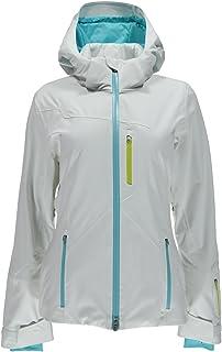 Spyder Women's Pandora Ski Jacket-Sizzler/Girlfriend/White, Size 8