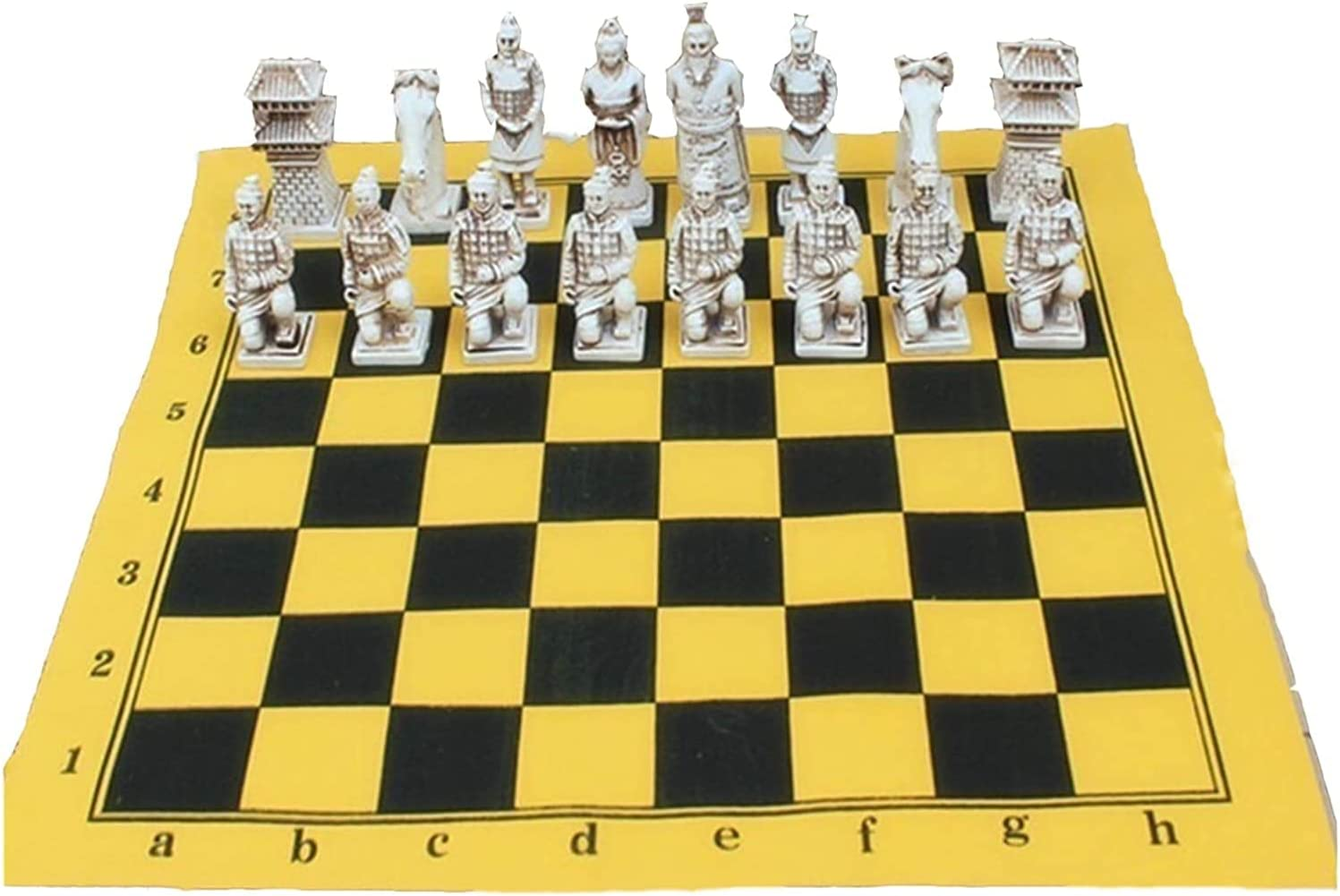 ZHZHUANG Chess Set Leather Resin Rapid rise Limited price sale Pieces