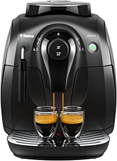Philips Saeco HD8645/47 Vapore Automatic Espresso Machine, X-Small, Black (Renewed)