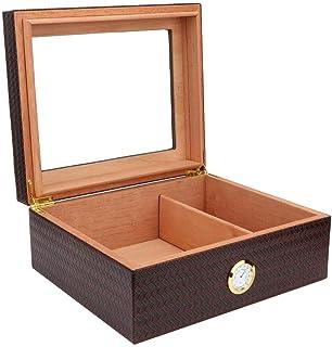 needlid Boîte à cigares en Bois de cèdre, boîte à cigares, Usage Domestique de Grande capacité pour accueillir jusqu'à 30 ...