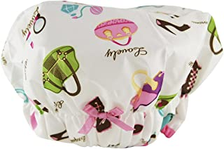 Betty Dain Fashionista Collection Mold Resistant Lined Shower Cap, Diva