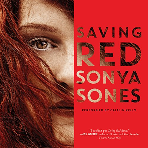 Saving Red audiobook cover art