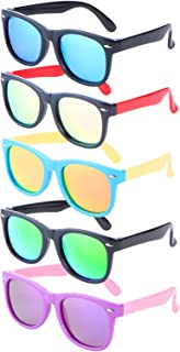 5 Pack Unbreakable Polarized UV Protected Sports toddler...