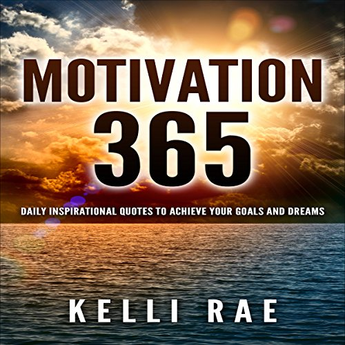 Motivation 365 audiobook cover art