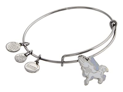 Alex and Ani Buckbeak Bangle Bracelet (Midnight Silver) Bracelet
