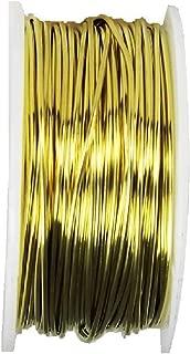 Brass Round Wire 5 oz Spool (Soft) (12 Ga - 18 Ft)