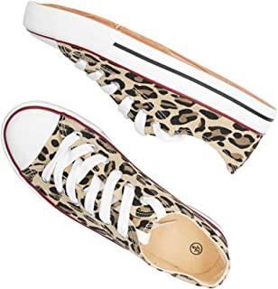 Women's Canvas Shoes Casual Lace-Up Fashion Sneaker